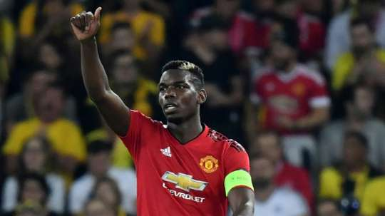 Juventus want Pogba back at the club. AFP