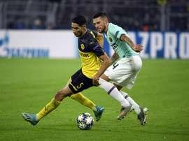 Achraf est prête au Borussia par le RM. AFP