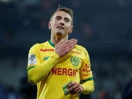 Rongier pourrait quitter Nantes. AFP