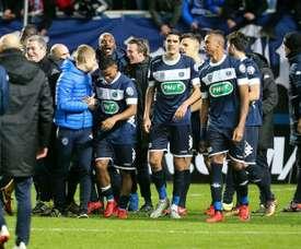 Troyes a enfoncé des Verts en plein doute. AFP