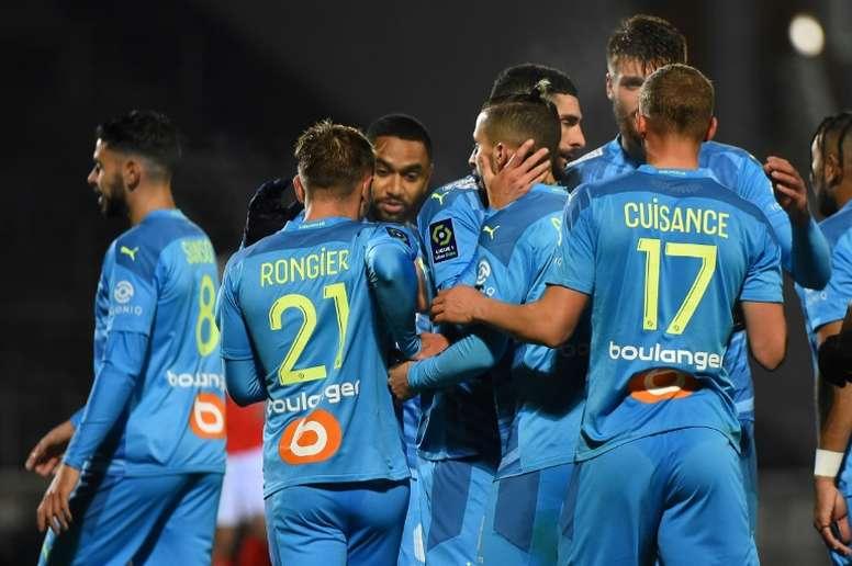 Ligue 1: Marseille maintient le rythme à Nîmes. AFP