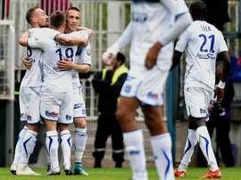 El Auxerre tiene nuevo técnico. AFP