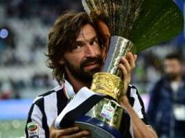Pirlo pourrait revenir à la Juve... comme entraineur ! AFP