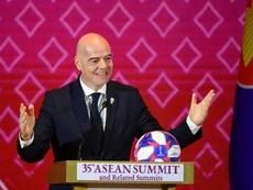 Femmes dans les stades: Infantino prévoit d'aller en Iran assister à un match. AFP