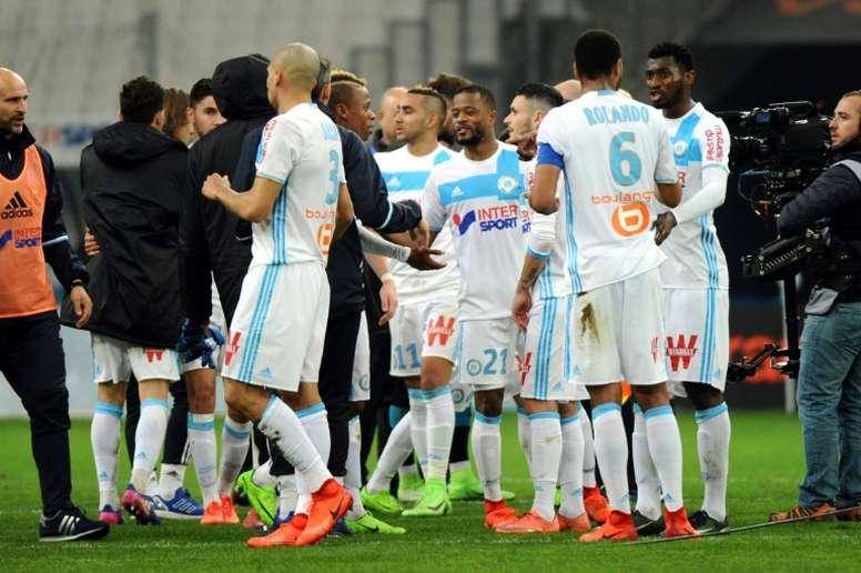 El Olympique de Marsella visita al Nancy. AFP