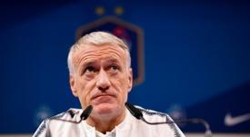Deschamps se refirió al Caso Dembélé. AFP