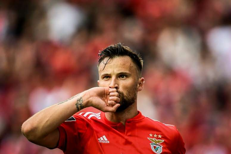Seferovic could be about to join the Premier League. AFP