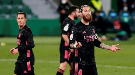 Les détails de l'offre du PSG à Sergio Ramos. AFP