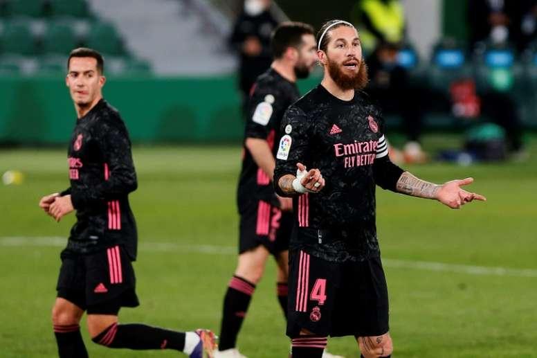 Le Real peut-il trouver un remplaçant à Ramos? AFP