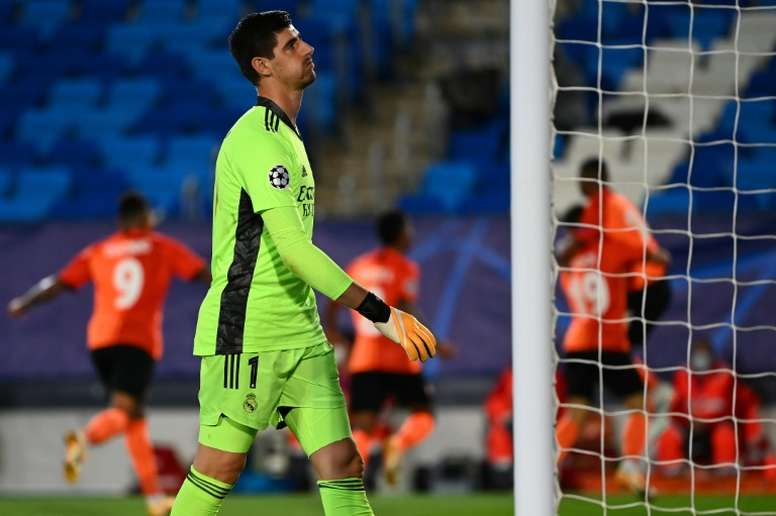 La derrota del Madrid, noticia destacada del día. AFP