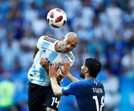 Mascherano proche d'un retour en Argentine. AFP