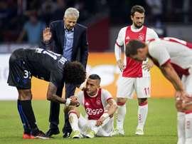 A equipe holandesa pode não chegar à fase de grupos da Europa League. AFP