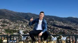 La star Ronaldo lance une ligne de lunettes avec Lapo Elkann. AFP