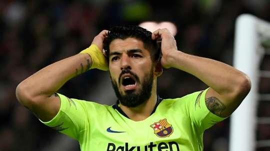 Suarez à l'Atlético, le dégraissage continue au Barça. afp