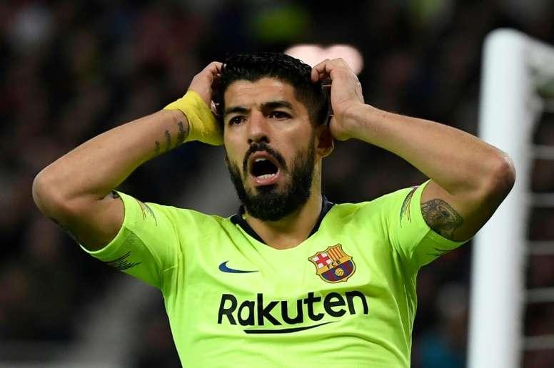 Luis Suárez deseaba ir al Atleti. AFP