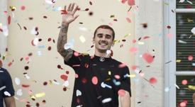 Le champion du monde Antoine Griezmann. AFP