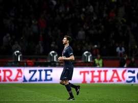 Thiago Motta veut entraîner le PSG. AFP