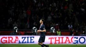 Thiago Motta vai pendurar as chuteiras no final da temporada. AFP