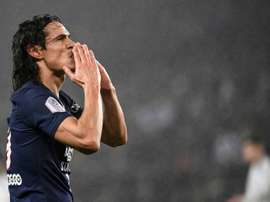 Cavani no radar do Atlético Mineiro. AFP