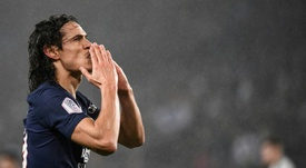 Cavani is now a free agent. AFP