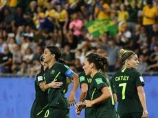 L'Australie rejoint les 8es et élimine la Jamaïque. AFP