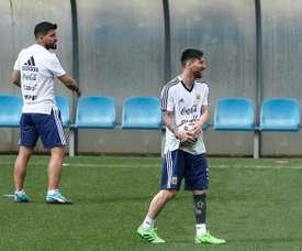 L'Argentine ne jouera pas contre Israel samedi. AFP