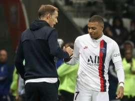 Tuchel pense que Kylian Mbappé ne peut jouer 90 minutes. AFP