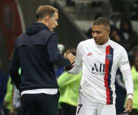 It can't be that Mbappe thinks I want to play without him. AFP