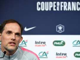 Thomas Tuchel didn't hesitate to take the blame for PSG defeat. AFP