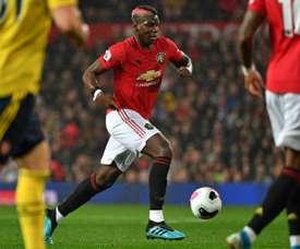 Il mediano francese dello United Paul Pogba.