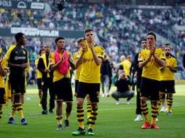 Fin du profil bas à Dortmund. AFP
