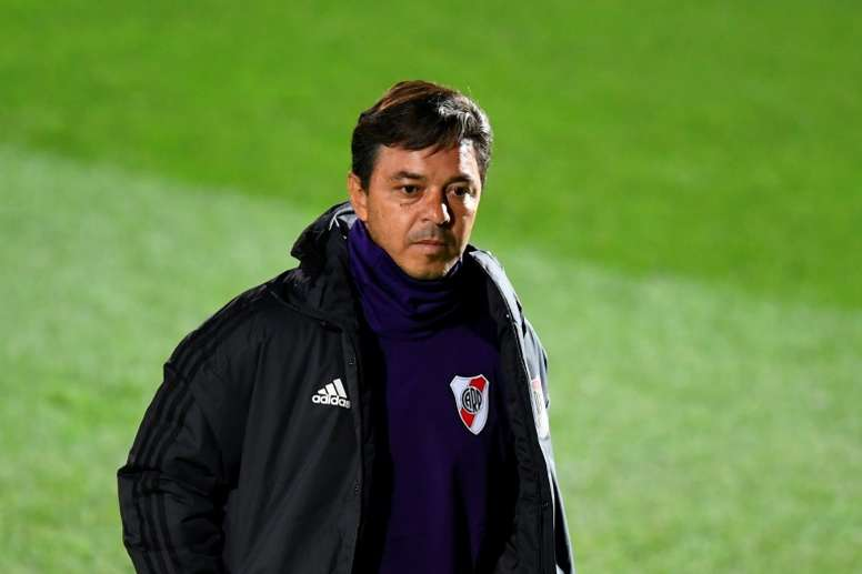 River afronta el duelo ante Independiente. AFP