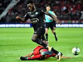 Bamba pourrait revenir à Angers. AFP
