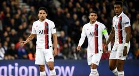 Marquinhos et Thiago Silva forfaits. AFP