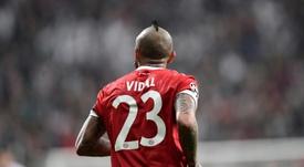 Vidal could leave Bavaria this summer. AFP