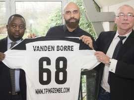 Le latéral belge Anthony Vanden Borre. AFP