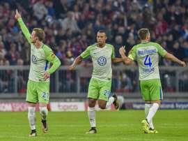 Le milieu de Wolfsburg Maximilian Arnold. AFP