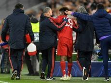 Le Bayern dompte Tottenham mais tremble pour Coman. AFP