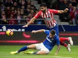 L'Atlético a eu chaud. AFP