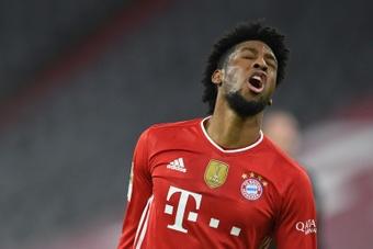 Christian Nerlinger vería buena la salida de Coman del Bayern. AFP