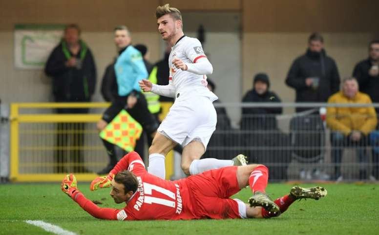 El RB Leipzig suma y sigue. AFP