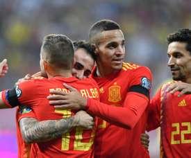 L'Espagne retrouve la Suède et la Pologne. AFP