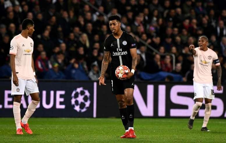 Contre Manchester United, Kimpembe affronte son passé. afp