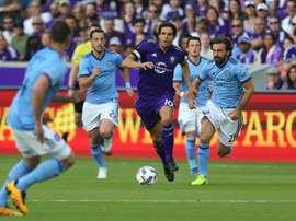 Kaka a joué son dernier match. AFP