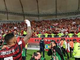 La Remontada de Flamengo. afp