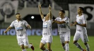 Copa Libertadores : Santos rejoint Palmeiras en finale. afp