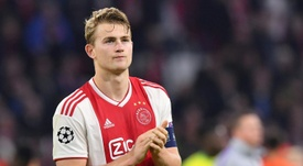 De Ligt's signing to be made public in less than 24 hours. AFP