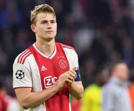 De Ligt is yet to decide on his future. AFP