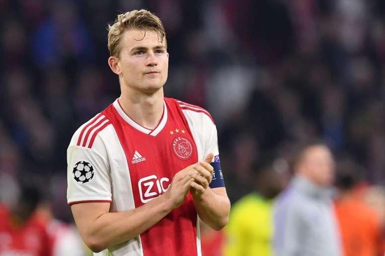 Posibles fichajes temporada 2019: De Ligt sigue pensando su futuro. AFP