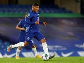 Le message de Thiago Silva à Frank Lampard. afp